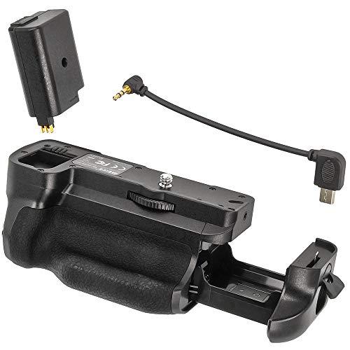 Empuñadura de batería Meike adecuada para Sony A6400, agarre de batería, doble duración de la batería de la cámara.