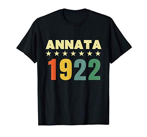99 anni compleanno Maglietta Annata 1922 Maglietta