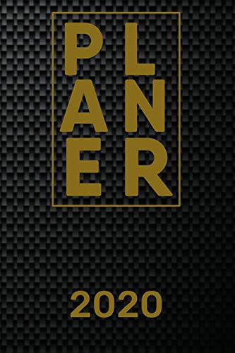 Planer 2020: Monatsplaner I Familienplaner I Planer Din A5 120 Seiten I 2020 I Wochenplaner I Checkliste I Notizen I Taschenkalender 2020 I ... Carbon I Kohlenstofffaser I Kohlefaser I Cfk