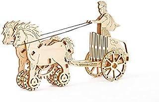 Mechanical 3D Puzzle Wooden.City Roman Chariot