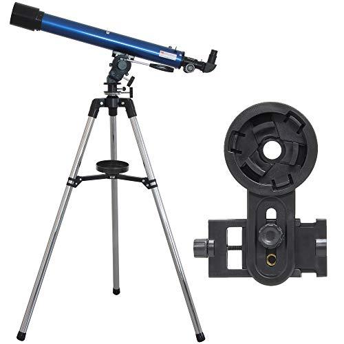 池田レンズ工業 天体望遠鏡 リゲル60 スマホ撮影セット 天体ガイドブック付き 屈折式 口径60mm 焦点距離700mm