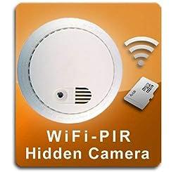 Smoke Detector Camera: Hidden Spy Cam with audio and night