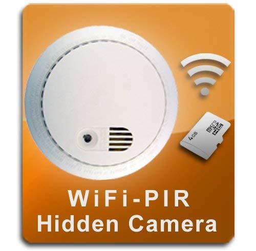Best smoke detector hidden camera for 2021