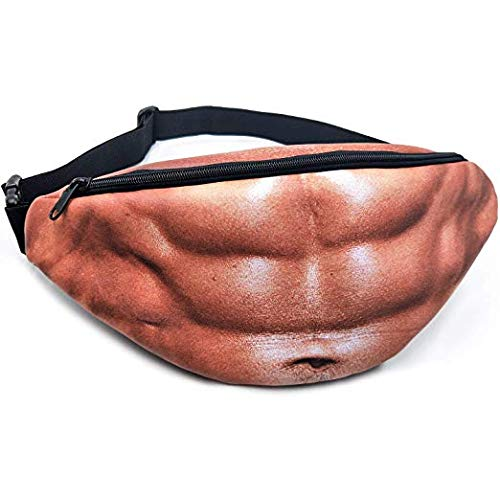 Fake Muscles Fanny Pack