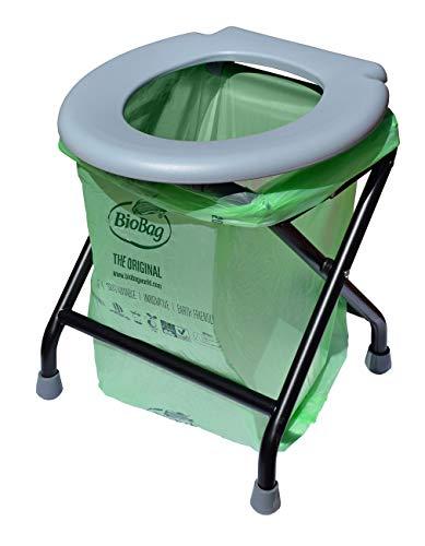 24ocean - Inodoro portátil, Grau - Kompostierbar
