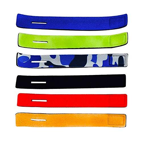 KnR Harmony Angelrute Gürtel 6 Stück Rutenbänder Angelgerät Zubehör Einstellbar