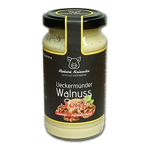 Ueckermünder Walnuss Senf - Fleischerei Robert Kriewitz   200ml