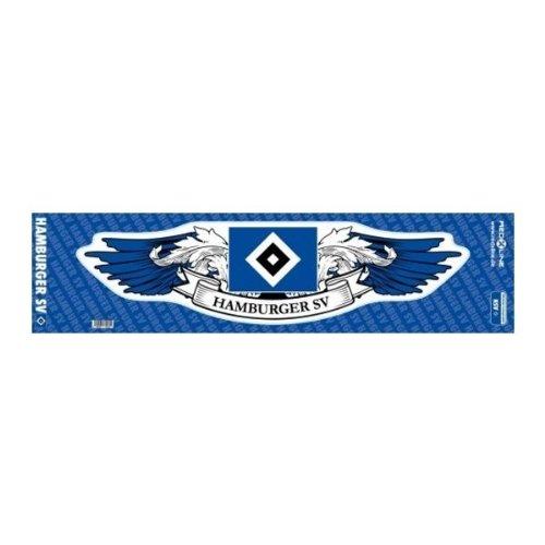 Brauns Hamburger SV Autoaufkleber Wings, blau, 29211