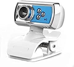 Yuxahiugstx HD Webcam with Microphone, USB Drive-free Unine External PC Laptop Desktop Web Camera, Computer Live Streaming...