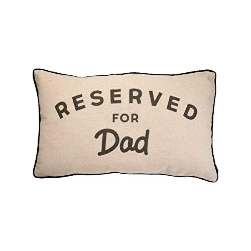 Sass & Belle Reserved For Dad Decorative Cushion