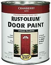 Rust-Oleum, Cranberry, 238314 Door Paint, 1-Quart