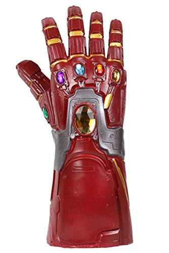 Avengers Vengadores Endgame Iron Hombre Infinity Gauntlet Novelty Latex Halloween Víspera de Todos los Santos Carnaval Fasching Traje Party Partido Cosplay
