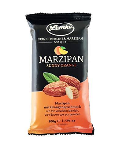 Lemke Marzipan / Backmarzipan - Sunny Orange - Orangen-Edelmarzipan (Tray 14x200g)