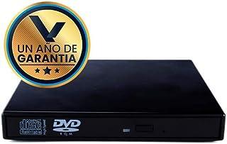 Lector/Quemador DVD Externo USB