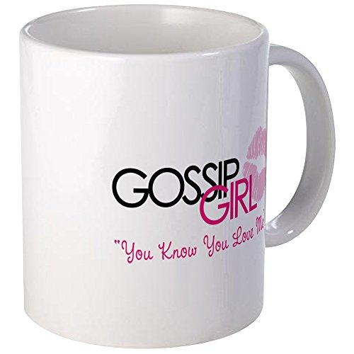 CafePress–Gossip Girl–Taza de café única ml, taza de café, taza de té, Blanco, small