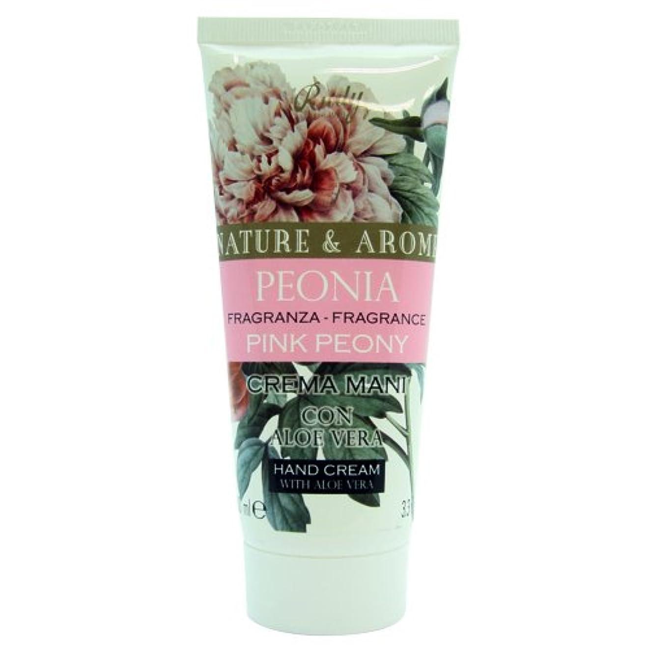 好き才能のある苦情文句RUDY Nature&Arome SERIES ルディ ナチュール&アロマ Hand Cream ハンドクリーム  ピンクピオニー