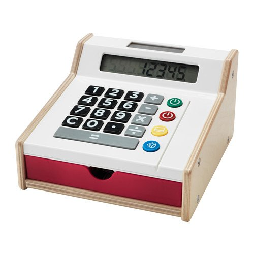Ikea Duktig–Juguete Caja registradora–40x 60x 240cm