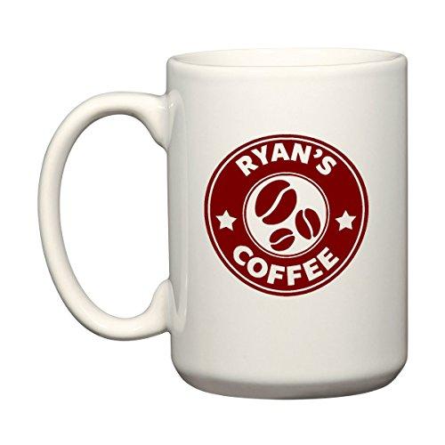 Ihr Name - Personalisierte Costas Stil - Groß 426ml - Kaffee oder Tee Tasse Becher