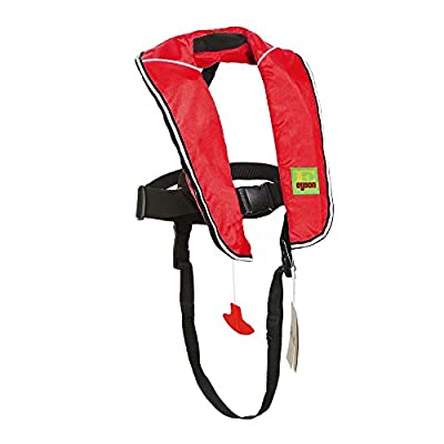 Premium Quality Automatic/Manual Inflatable Life Jacket Lifejacket PFD Life Vest Inflate Survival Aid Lifesaving PFD for Children Youth Kids