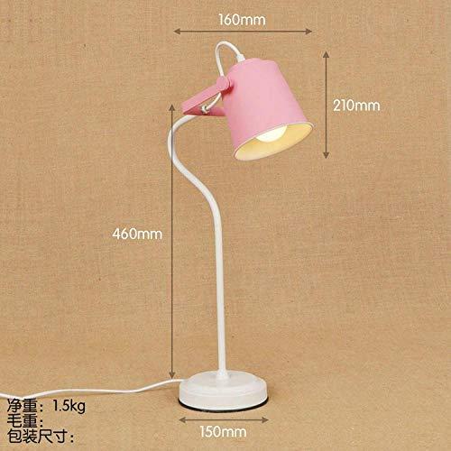 Leselampe Nachttischlampe Tischlampe Schreibtischlampe Tischleuchte Kreative Studie Schlafzimmer Computertisch Nacht Persönlichkeit Farbe...