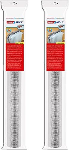tesamoll® Reflektorfolie für Heizkörper, 1,00 m x 0,70 m (2er Pack)
