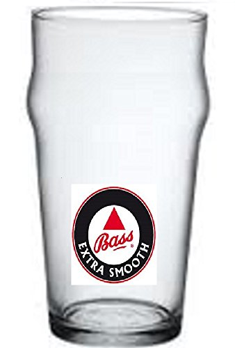 Lot de 6 verres à bière Pinta Bass Extra Smooth cl. 40 cl.