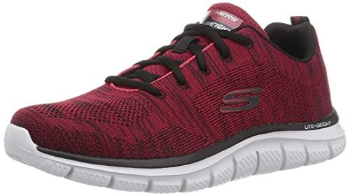 Skechers Sport Track-Front Runner Men's Running 14 D(M) US Red-Black
