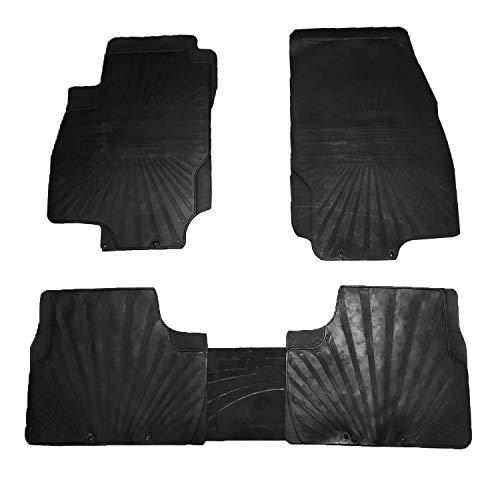 RE&AR Tuning Alfombrillas de goma para Opel Astra H 2004 – 2009, color negro