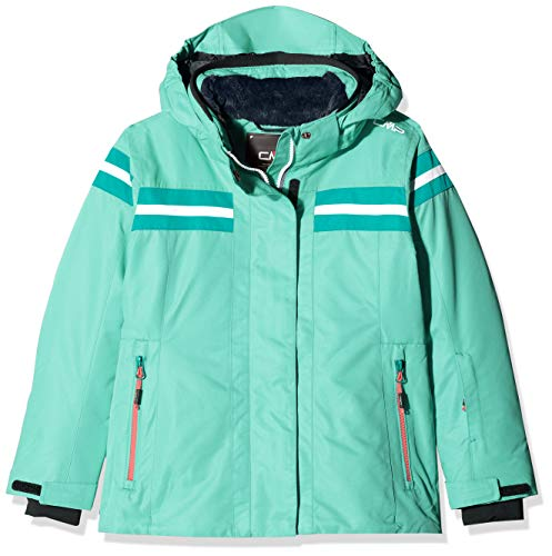 CMP Mädchen Skijacke 39W2005 Jacke, Aquamint, 110