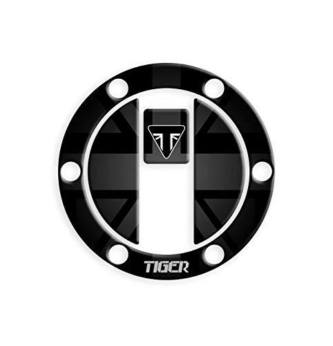 PROTECCIÓN DE Tapa DE Combustible Resina 3D Tiger 800 XC – XCX – XCA – XR – XRA – XRT GP-462(M) (Black)