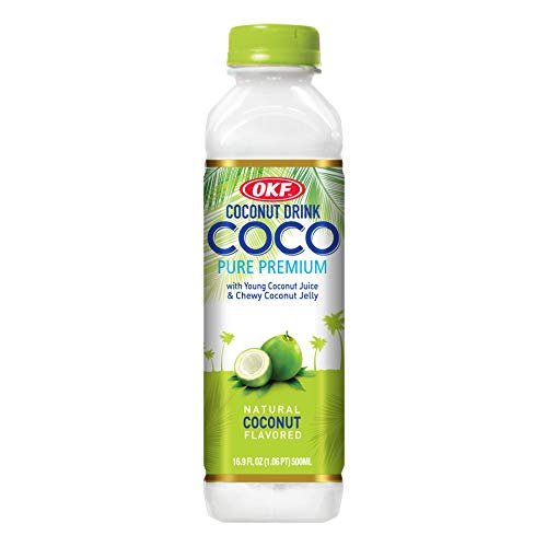 OKF Boisson de Noix de Coco 500 ml 0.5 kg - Pack de 20