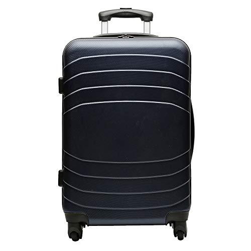 Misako – Maleta de Viaje DINAMIC Mediana 64 X 39 X 28CM - 69L - 3,1KG de en Color Azul Marino | 4 Ruedas | Maleta Rigida