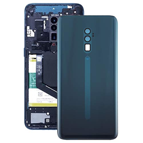 Lihuoxiu Mobile Phone Replacement Back Cover Battery Back Cover for Oppo Reno 10x Zoom Phone Accessories (Color : Green)