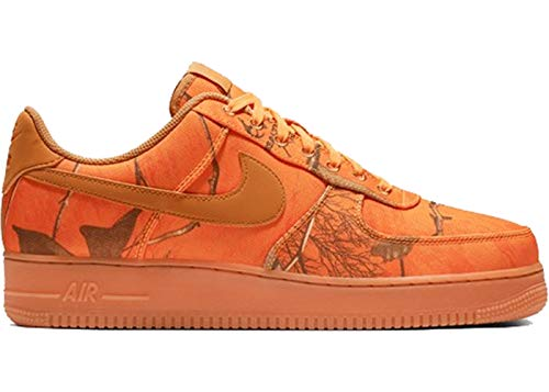 Nike Herren Air Force 1 '07 Lv8 3 Basketballschuhe, Mehrfarbig (Orange Blaze/Wheat/Gum Med Brown 800), 46 EU
