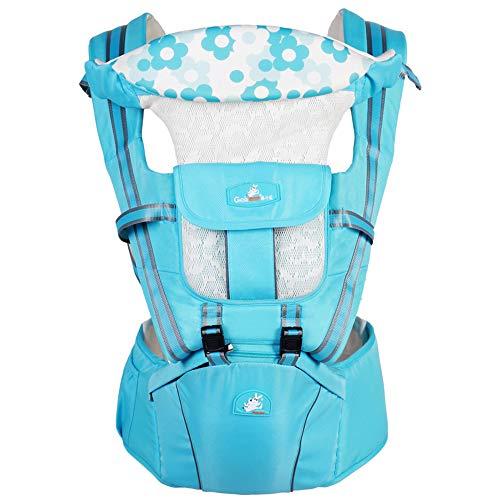 YDD Sac banane 360 cm ergonomique avec siège pour bébé et poussette (sac à dos) pour toutes les saisons Parfait pour l'allaitement, la randonnée et le voyage