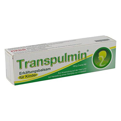 TRANSPULMIN Erkältungsbalsam für Kinder 100 g Creme