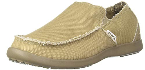crocs Santa Cruz Men 10128-261-700 Herren Slipper, Braun (Khaki/Khaki 261), 49/50 EU