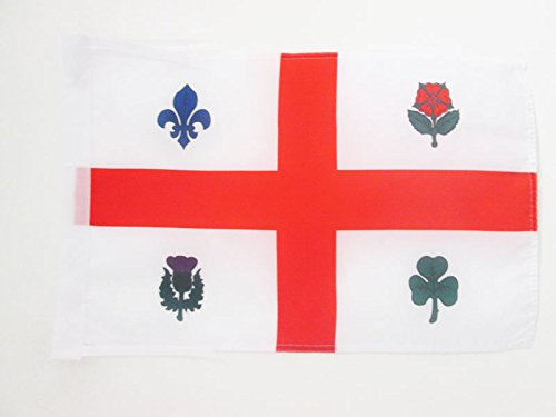 AZ FLAG Drapeau Montréal 45x30cm - PAVILLON Canadien - Canada 30 x 45 cm Haute qualité