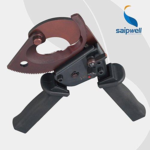 J38 300 mm2 Max de coupe Allemagne Motif câble de coupe Mini Motif Coupe-câbles à cliquet avec verrouillage de sécurité