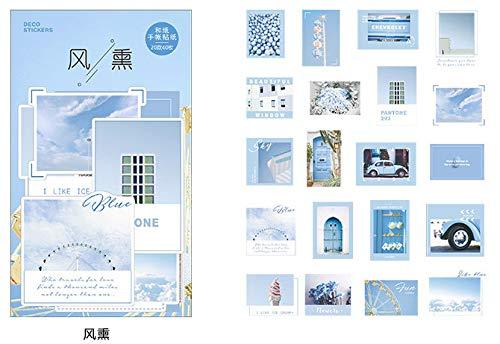 Matchbox Sticker Retro Pragmatismus Serie Retro-hand-account-dekoration Diy-aufkleber 60pcs B