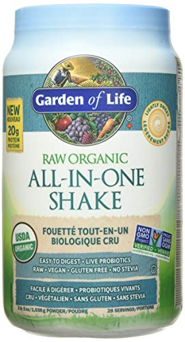 Garden of Life All in One Vegetarian Vegan Plant Protein Shake 1036g Lightly Sweet