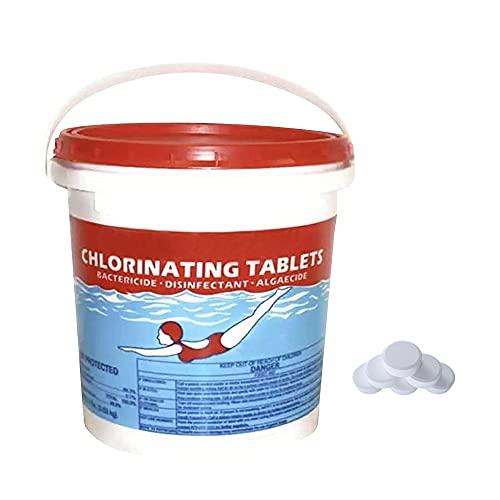 Chloor zwembad tabletten, zwembadchlorerende tabletten, langdurige Chlorinate Tabs, Hot Tub Spa Onderhoud Kit, 5.000 gallons, Voorkom zonlicht voor langere tijd (300 stksB)