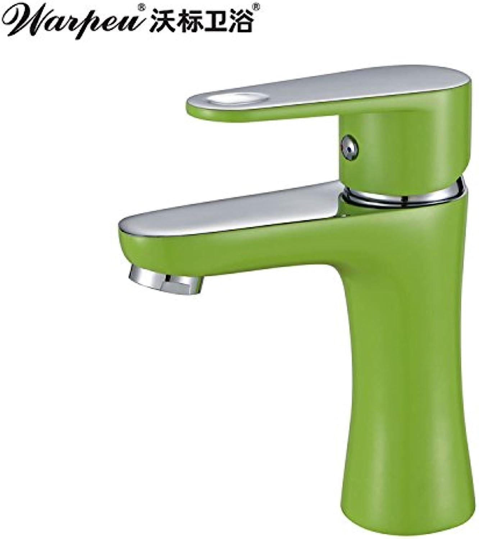 Gyps Faucet BF1171 C Basin Mixer Tap for Washbasin Wash Basin Green