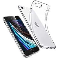 ESR Funda para iPhone SE/8/7 [Funda TPU][No amarillea][Tapa trasera de solo 1,1 mm] [Esquinas con Absorción de Golpes][Funda de Silicona Flexible] Transparente