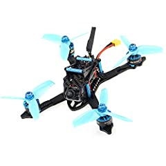 ✈【Real customer's review 】It has SO MUCH POWER and it flies SO nicely. You have amazing control and speed and you can get it under 250grams ,What a great little Quad Copter, very easy to install a Frsky XM+ receiver, bind and connect to Betaflight ✈【...