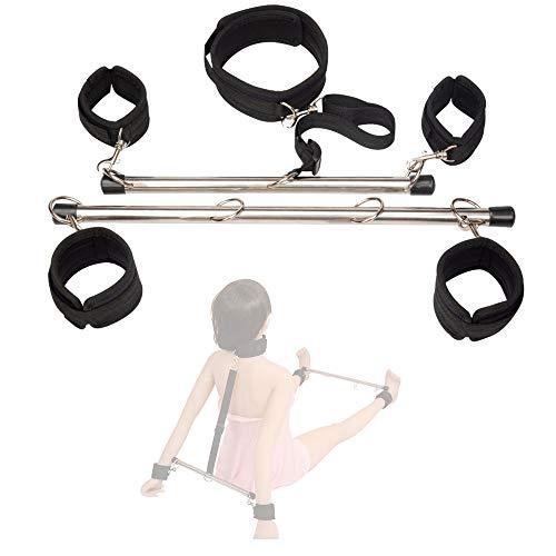 Amazing Mall - Tubo de acero para postura de postura para entrenamiento con toda seguridad