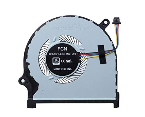 HuiHan Replacement for Dell Inspiron 7590 7591 Laptop GPU Cooling Fan 0861FC