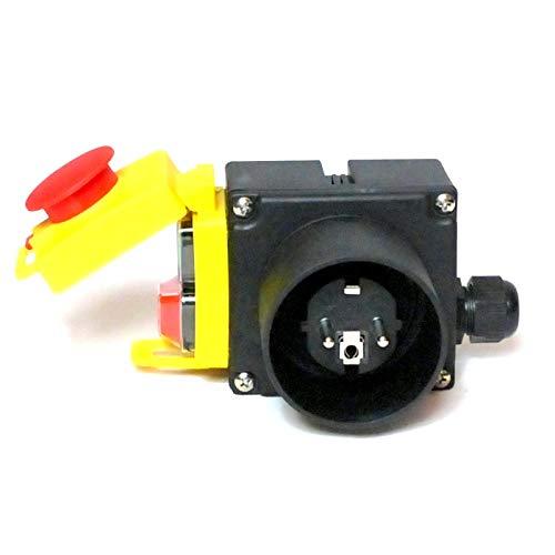 BUZE Orginal KEDU KOA7 Schalter 230V Notaus-Klappe, Thermoschalter Anschluss, Unterspannungsauslöser