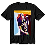 Paramore Hayley Williams Graphics Art, Hayley Williams, Hayley Williams Singer t-Shirt Black