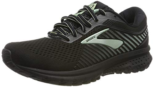 Brooks Ghost 12 GTX Black/Ebony/Aqua 10